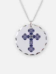 Bluebonnet cross Necklace