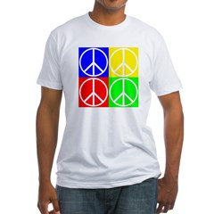 Four Color Peace Sign Shirt