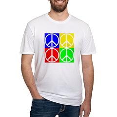 Four Color Peace Sign Shirt