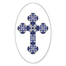 Bluebonnet cross Decal