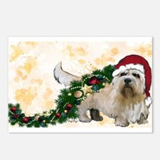 Cute Christmas wreath Postcards (Package of 8)