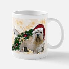 dandie dinmont Christmas Mugs
