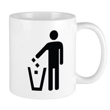 Litter Container Image Mug