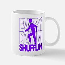 Everyday I'm Shufflin Purple Mug