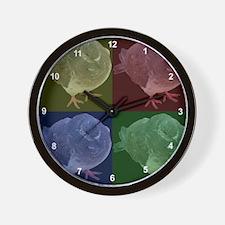 Unique I brake for birds Wall Clock