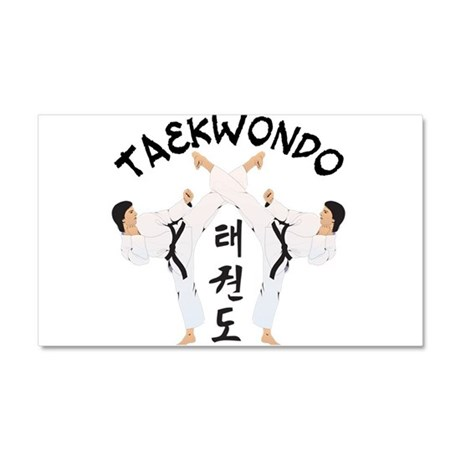 Taekwondo Car Magnet 12 x 20