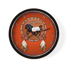 Horse n Arrows Wall Clock