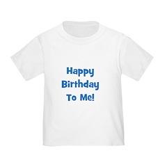 Happy Birthday To Me! Blue T