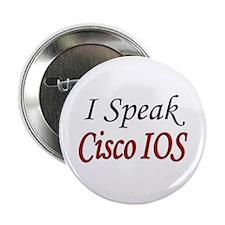 """""""I Speak Cisco IOS"""" 2.25"""" Button (100 pack)"""