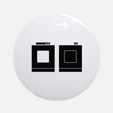 Laundry Image Ornament (Round)