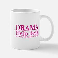 DRAMA help desk all good gossip is shared Mugs