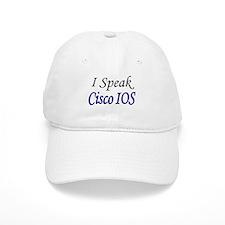 """""""I Speak Cisco IOS"""" Baseball Cap"""