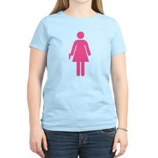 Woman w/ Gun Icon T-Shirt