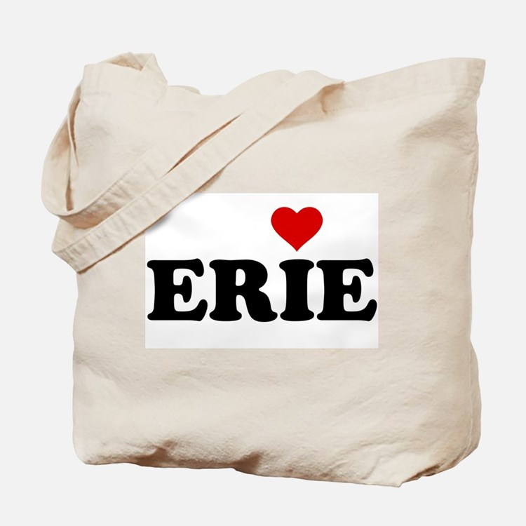 Erie with Heart Tote Bag