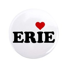 "Erie with Heart 3.5"" Button (100 pack)"