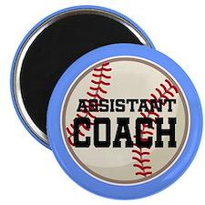 Baseball Assistant Coach Magnet