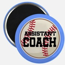 Baseball Assistant Coach Magnet