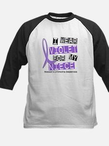 I Wear Violet 37 Hodgkin's Lymphoma Tee