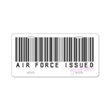 Air Force Issued Girlfriend Aluminum License Plate