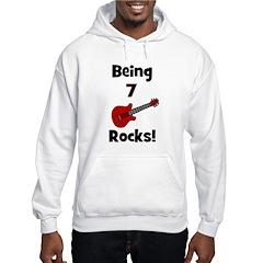 Being 7 Rocks! Guitar Hoodie