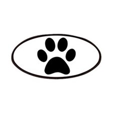 Paw Print Icon Patches