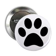 """Paw Print Icon 2.25"""" Button"""