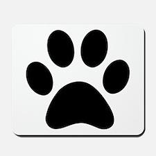 Paw Print Icon Mousepad