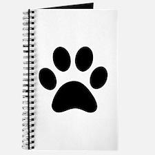 Paw Print Icon Journal