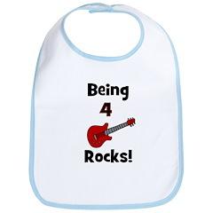 Being 4 Rocks! Guitar Bib