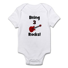Being 3 Rocks! Infant Creeper