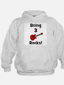 Being 3 Rocks! Hoodie
