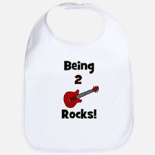 Being 2 Rocks! Guitar Bib