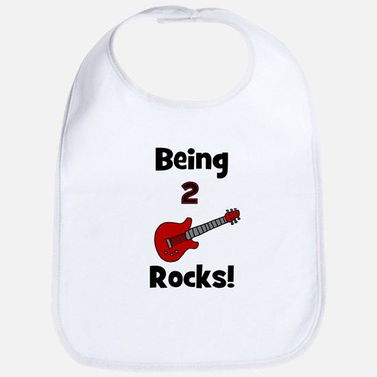 Being 2 Rocks! Guitar Bib