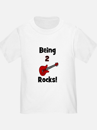 Being 2 Rocks! Guitar T