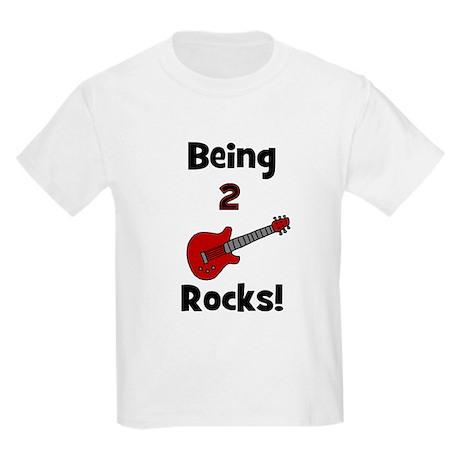 Being 2 Rocks! Guitar Kids T-Shirt