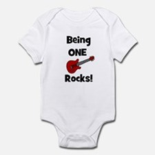 Being ONE Rocks! Guitar Infant Creeper