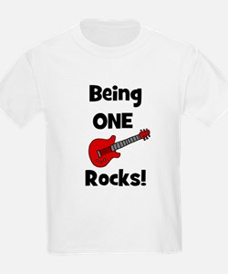 Being ONE Rocks! Guitar Kids T-Shirt