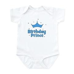 Birthday Prince! w/ Crown Infant Creeper
