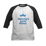 Mommy's Little Prince w/ Crow Kids Baseball Jersey