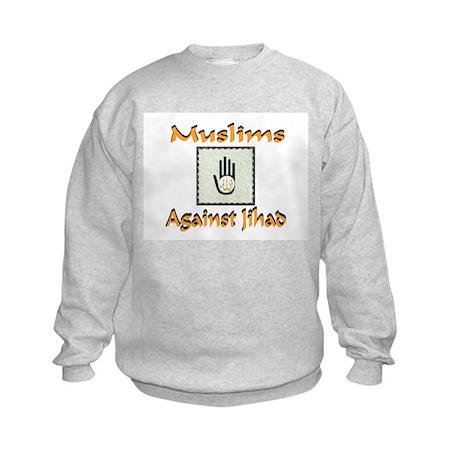 NO JIHAD Kids Sweatshirt