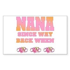 Nana SWBW Rectangle Decal