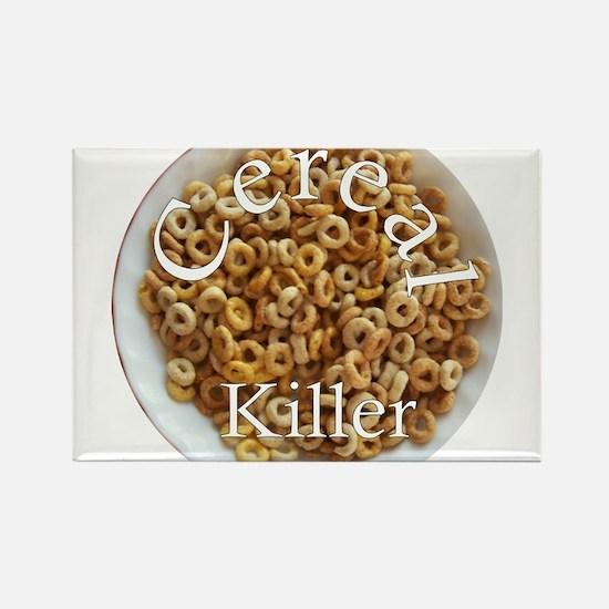 Cute Cereal killer Rectangle Magnet