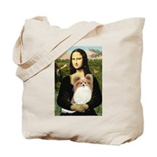 Mona & her Fawn Papillon Tote Bag