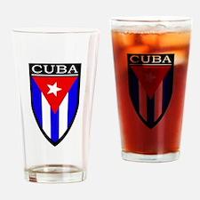 Cuba Patch Pint Glass