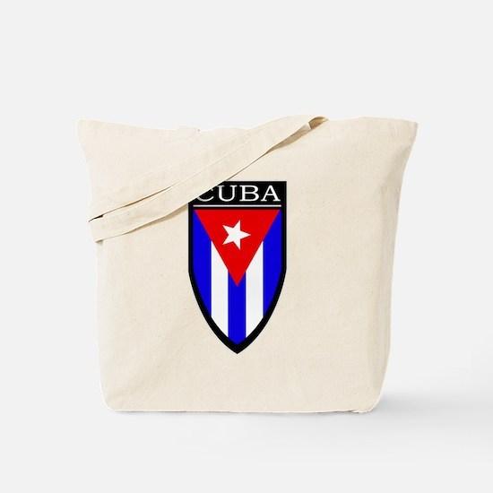 Cuba Patch Tote Bag