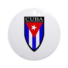 Cuba Patch Ornament (Round)