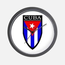 Cuba Patch Wall Clock