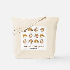 Save Pangolins Tote Bag