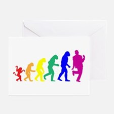 Gay Evolution Greeting Cards (Pk of 20)