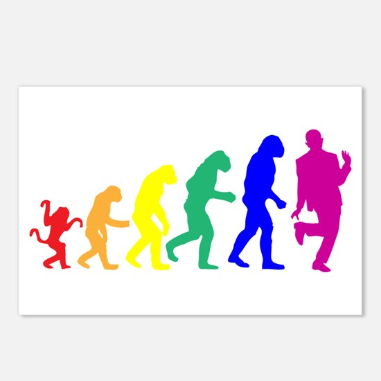 Gay Evolution Postcards (Package of 8)